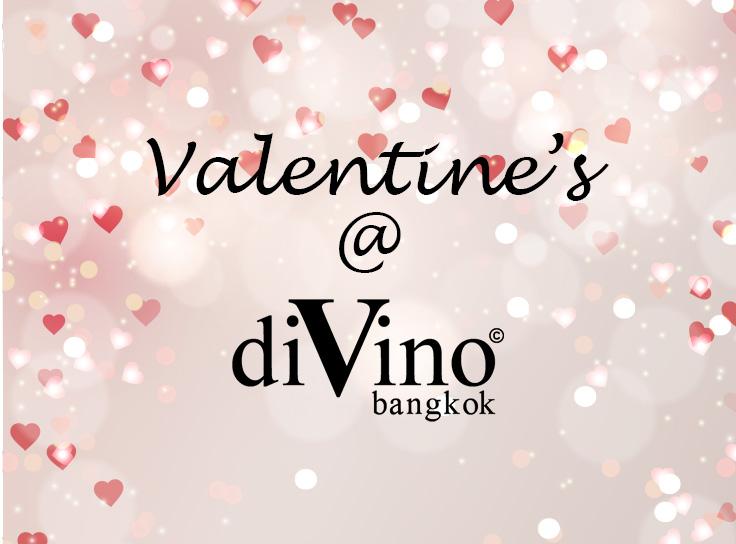 Valentine's day – diVino's special menu